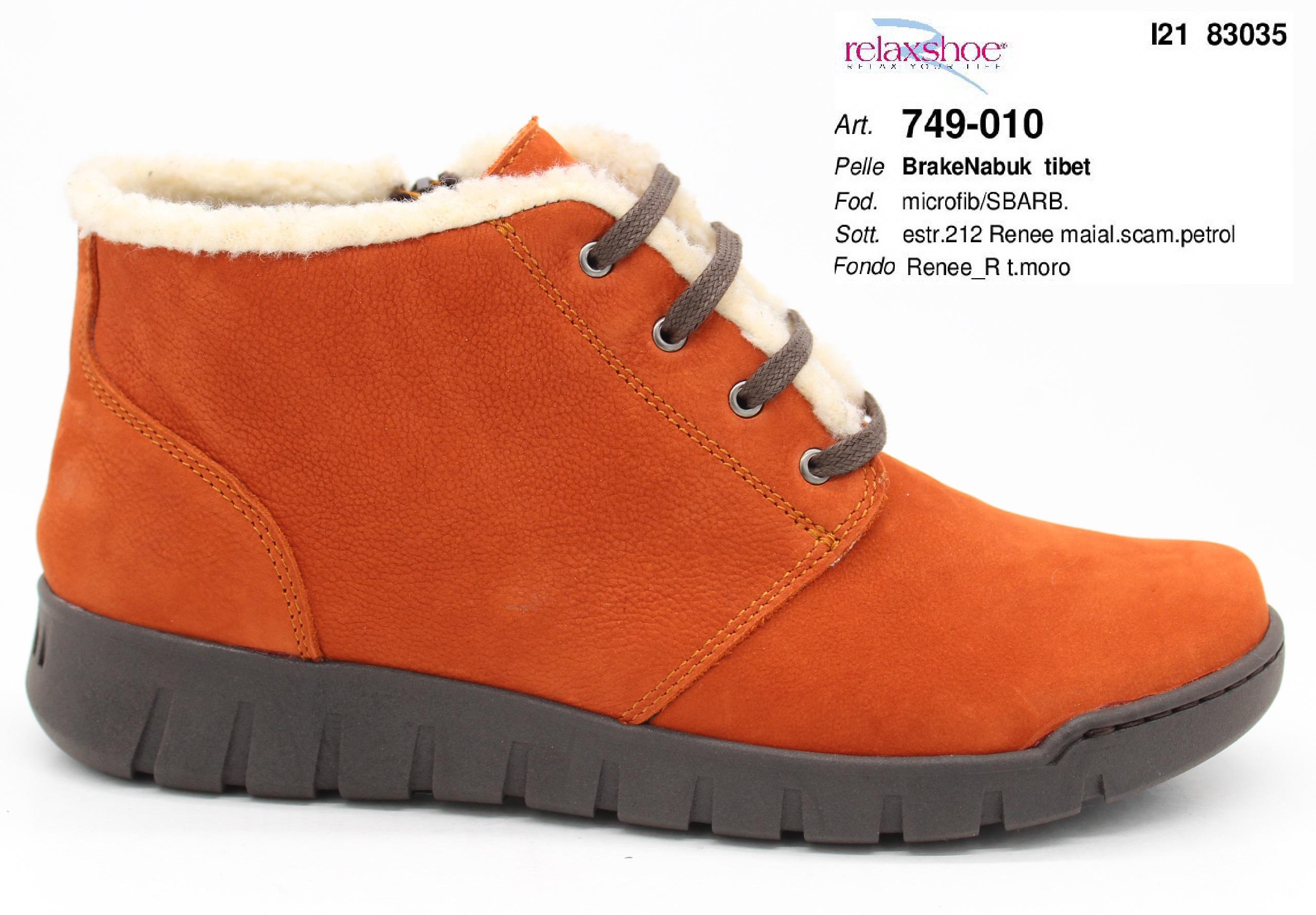 итальянская обувь relaxshoe осень-зима 2021