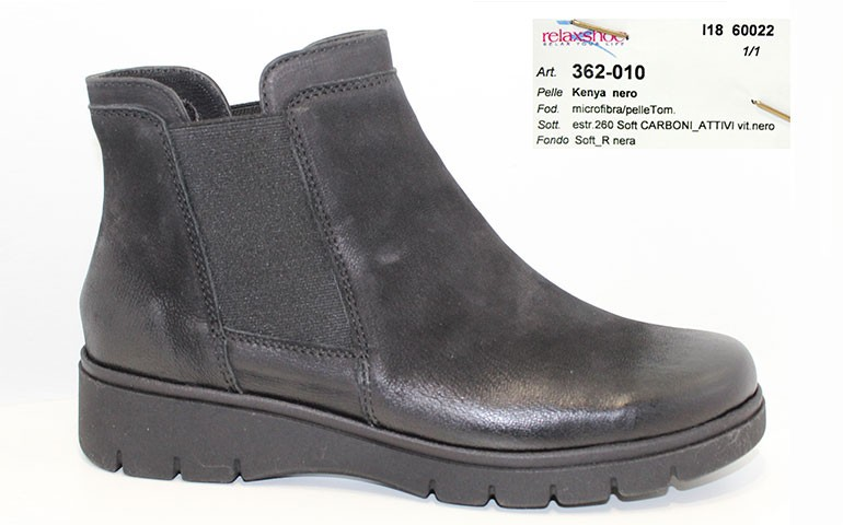 обувь relaxshoe 362 nero