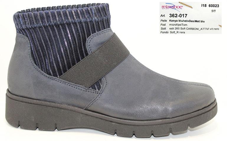 обувь relaxshoe 362 blu