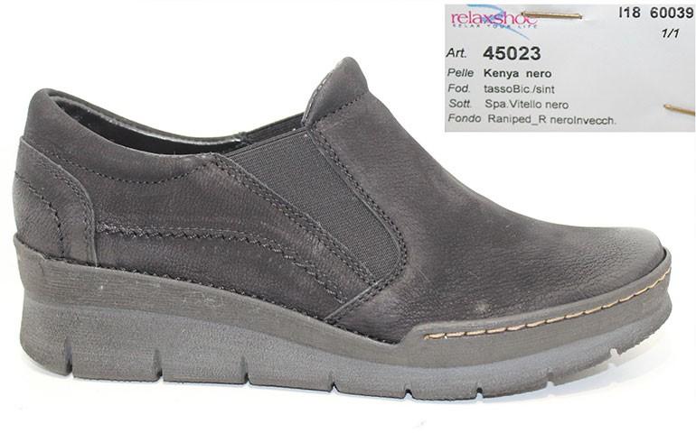 обувь relaxshoe 45023 nero