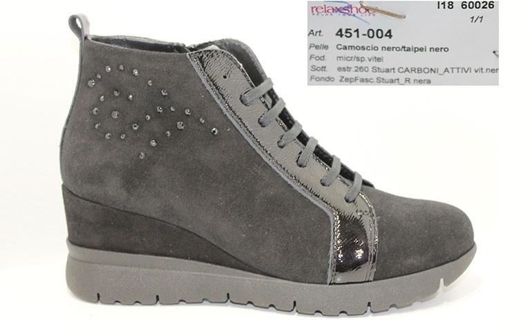 обувь relaxshoe 451 nero