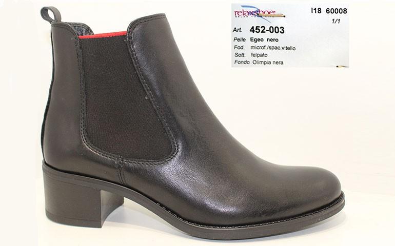 ботинки relaxshoe 452-003-2 nero