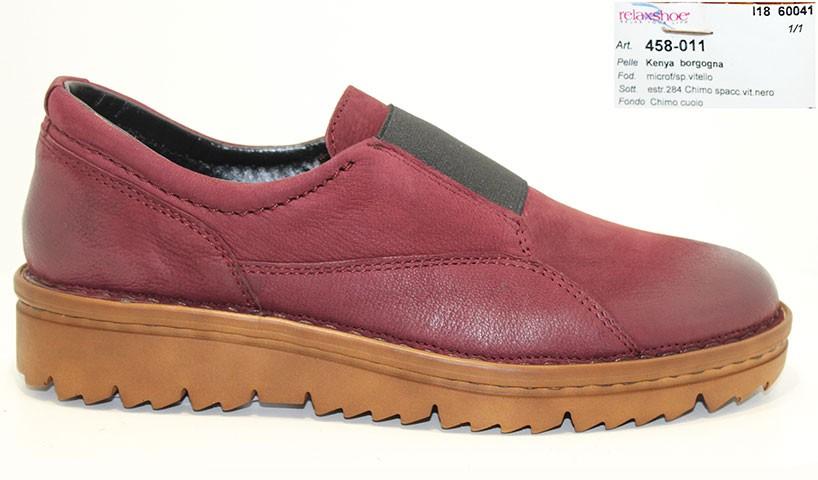 обувь relaxshoe borgogna